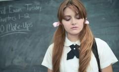 innocenthigh   cute redhead schoolgirl fucks pervy teacher
