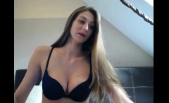 Piss Pee Covered Blonde Enjoys Solo Sex