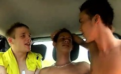 Webcam guy sucking dick gay xxx Hitchhiker Bailey was fast t