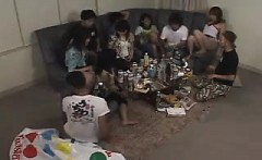 College reality amateur party