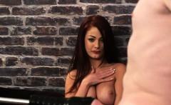 redhead british voyeur teases humiliated sub