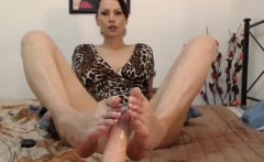 kinky foot fetish milf