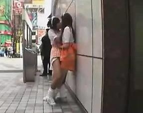 Sexy Asian Panties Public Outdoor