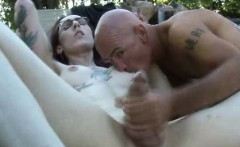 Alt Tranny Gets Cum In Her Mouth!