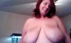 Red head BBW pov webcam