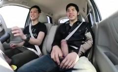 Two Amateur Gay Asian Friends