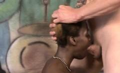 Ghetto Ho Tristina Millz Swallows White Dicks For Cash