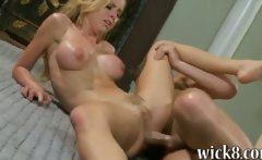 Huge rack blonde pornstar Jessie Rogers asshole pounded
