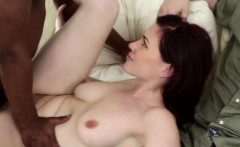 redhead milf cuckolds her husband with bbc