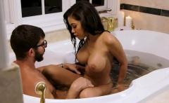 big tits ebony wife shay evans pounded in the bathtub