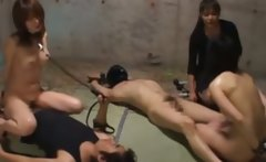 chained up asian suck and fuck for their lucky masters