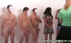 CFNM housewives toying with cocks