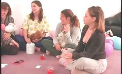 Teenage girls play truth or dare sexgames