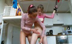 18yo russian girls playing with toys