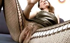 Hot slutty mature brunette sucks