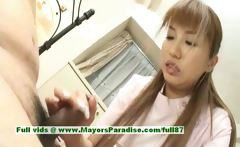 Myuu Hasegawa hot girl hot Chinese girl rubs her big boobs