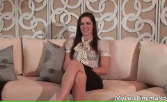 Hot sexy nasty brunette talking about