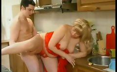 Mature Russian house wife get horny