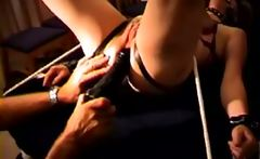 Extreme Spanking for my tiedup wife