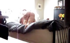 My Mom cumming on Cock of her BF