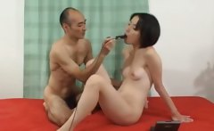 Deep ass sex with hairy japanese babe