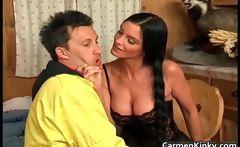 Sexy big tits Carmen