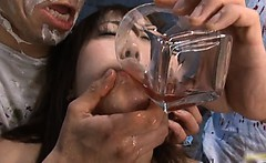 Nozomo Mitani Japanese doll gets a hard