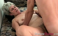 smelly hairy granny snatch fucked