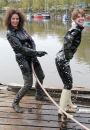 Better Life with rubber boots