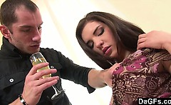 Assfucked On The Floor On A Romantic Date