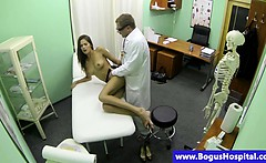 Bogus doctor shags his sexy patient