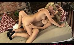 Sexy Lesbians Sensual Kissing