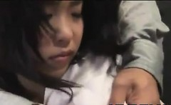 Asian MILF Getting Milked
