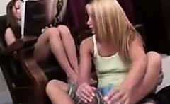 Sister In Law Giving A Footjob
