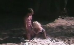 Blonde Chick Fucking On The Beach