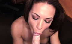Hungry Kylie Eats Her Lovers Big Dick For Breakfast