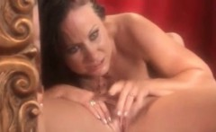 Lesbian dildo cunt licking outdoors