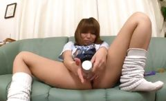 Asian girl is a sweet student