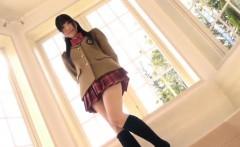 Sweet Young Japanese Girl Doing Cosplay