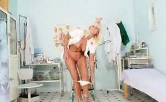 Madam Frantiska piss hole gaping in nurse practitioner