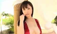Busty Japanese Beauty Outdoors Softcore
