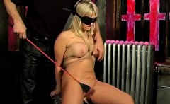 big tits blonde bound and blindfolded te   date her on dom m