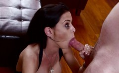 Kinky hardcore action with throated milf