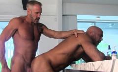 Gay buff bear nailing