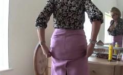 Adulterous british mature lady sonia displays her massive ti