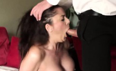Busty Leia knows how to ride a hard dick in a few sex poses