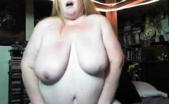 Bbw playing and dance