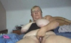 Big Boobed MILF on Webcam