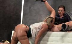 Glam lesbian fists cunt
