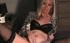 Hot blonde Tina fingers her snatch and sits in reverse cowg